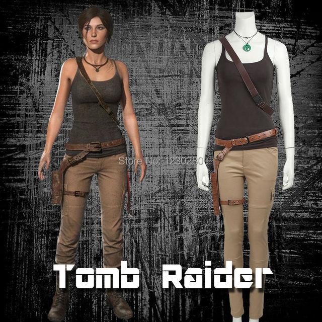 Tomb Raider Lara Croft Cosplay Kostüm Lara Croft Kostüm Cosplay