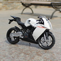 1:12 Scale Metal Diecast KTM RC8 1190 Motorcycle Toys Models Decoration Home Emblem Simulation Alloy Moto Toys Birthday Gifts