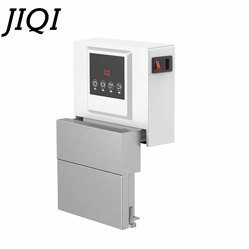 JIQI Automatic Desktop Embedded Dishwasher Intelligent Fruit Ultrasonic Cleaner Scrub Mini Bowl Dishes Washing Machine EU Plug