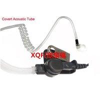 מכשיר הקשר אייר Tube FBI PTT אפרכסת מיקרופון אוזניות עבור APX2000 רדיו נייד מוטורולה APX7000 APX6000 APX7500 DP4601 מכשיר הקשר XiR P8668 (3)