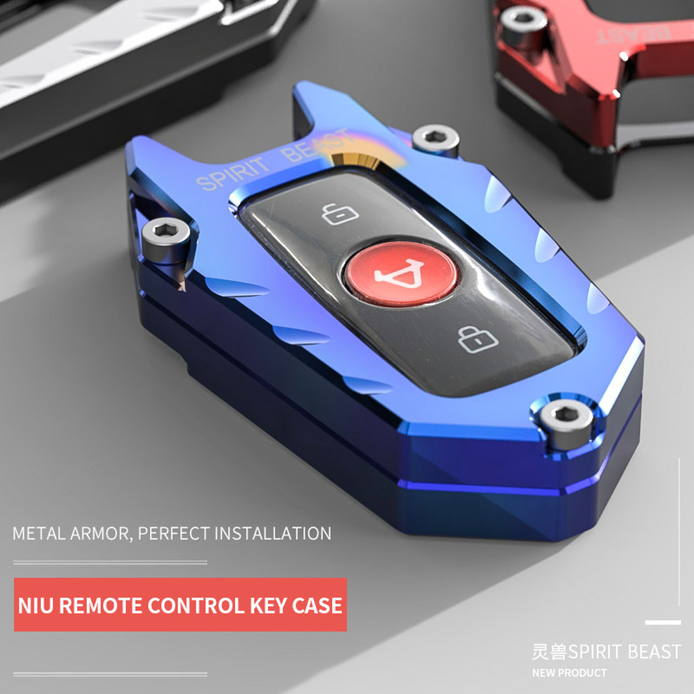 Spirit Beast Key Shell Accessories Motorcycle Remote Control Shell Decorative Key Cover Appearance Modification Free Shipping