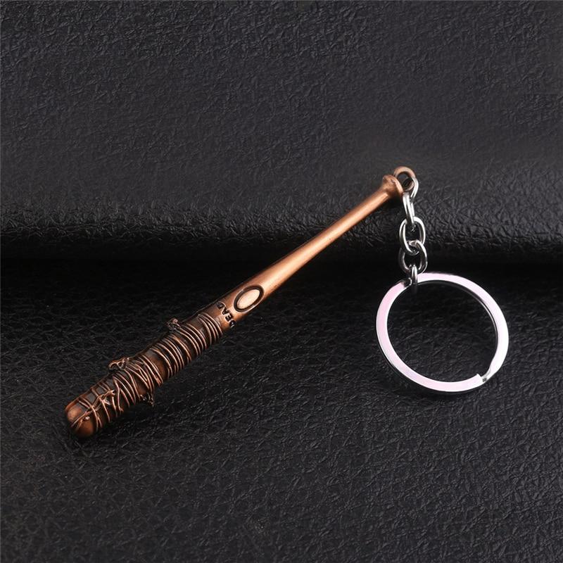Модный винтажный брелок для ключей The Walking Dead Negan's летучая мышь LUCILLE брелок для бейсбола брелок для мужчин ювелирные изделия аксессуары Подарки