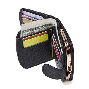 Wallet Female Hasp Coin-Purse Small Women Pockets Credit-Holder Short