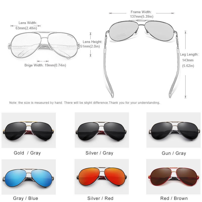 7-Day Delivery KINGSEVEN Vintage Aluminum Polarized Sunglasses Brand Sun glasses Coating Lens Driving EyewearFor Men/Wome N725 4