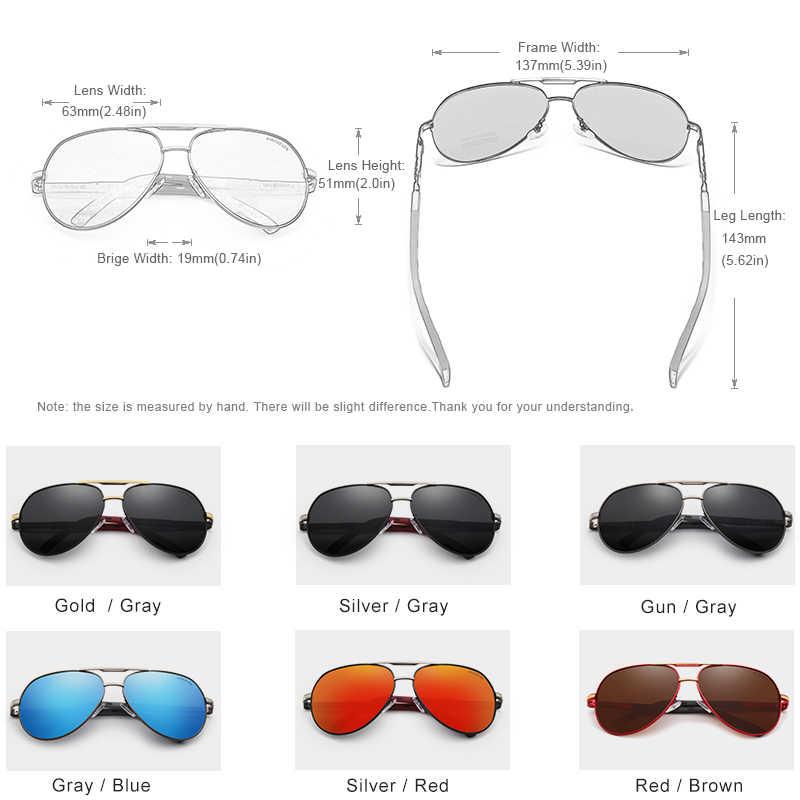 KINGSEVEN Alumínio Óculos Polarizados Óculos de Sol Dos Homens Do Vintage Clássico óculos de Sol Da Marca Coating Lens Driving Shades Para Homens/Wome