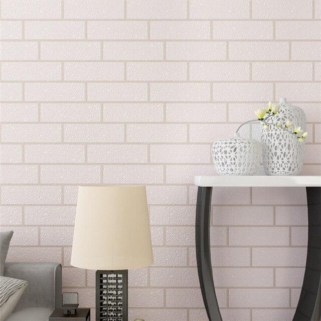 3d brique motif papier peint. Black Bedroom Furniture Sets. Home Design Ideas