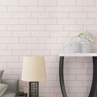 Deep Embossed 3D Brick Wall Paper Modern Vintage Brick Stone Pattern Paper Wallpaper Roll For Living