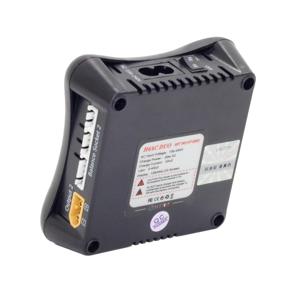htrc h4ac duo mini rc charger dual port 20w x2 2a x2 for 2 4s lipo rh aliexpress com Star Mini Phantom LED Extreme Dimension Mini Phantom