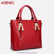 HOTSPEED New 2016 Fashion Brand Genuine leather Women Handbag Europe and America Shoulder Bag Casual Women Bag