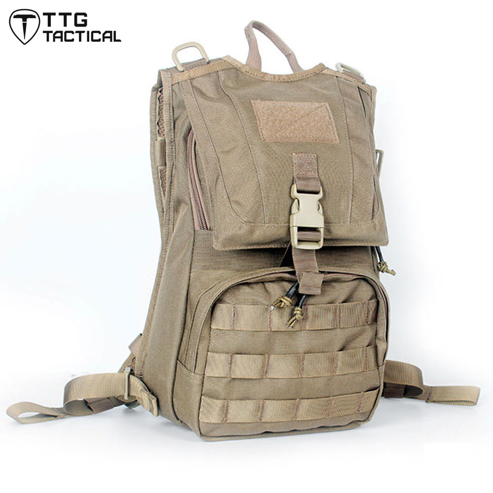 MOLLE Water Bladder Military Backpack 1050D Nylon Portable Travel Assault Backpack Utility Camouflage Paintball Rucksack 35l waterproof tactical backpack military multifunction high capacity hike camouflage travel backpack mochila molle system