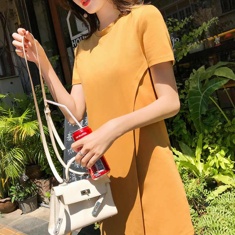 Популярное весеннее 2019 длинное платье в складку летнее повседневное женское с высокой талией Elascity на продвижение