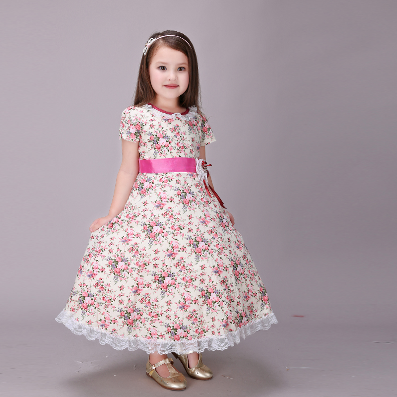 11.11 High Quality Flower Baby Girls Wedding Dress Girls Gown Bridesmaid Dresses Kids Party Princess Maxi Dresses For Kids
