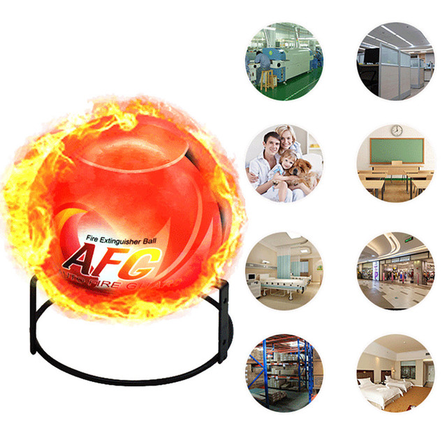 Best Selling 2021 Products Fire Extinguisher Ball Anti-Fire-Ball Stop Fire Loss Tool Safety Non-Toxic