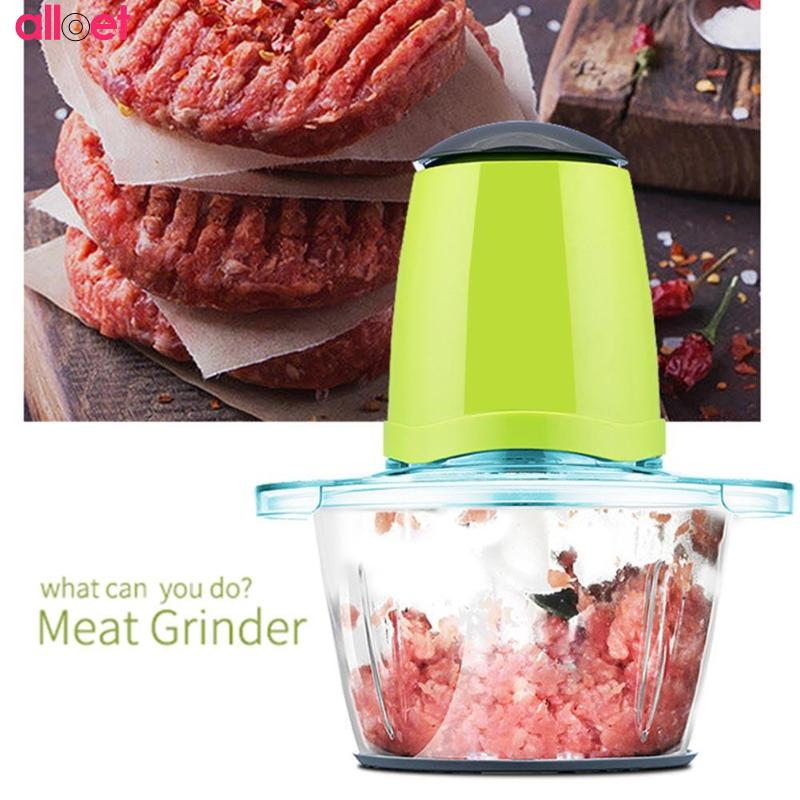 2.0L Large Multifunctional Electric Meat Grinder Food Processor Baby Food Mixing Machine Fruit Vegetable Milk Shake Household bear 220 v hand held electric blender multifunctional household grinding meat mincing juicer machine