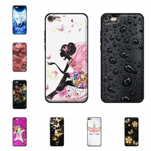 For Apple iPhone 6 Cover Ultra Thin Soft TPU Leather 6s Case Cute Girl Patterned Bumper Funda