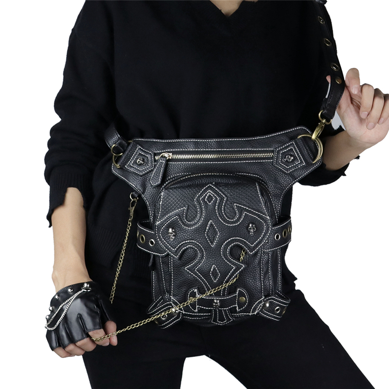 steampunk waist bag