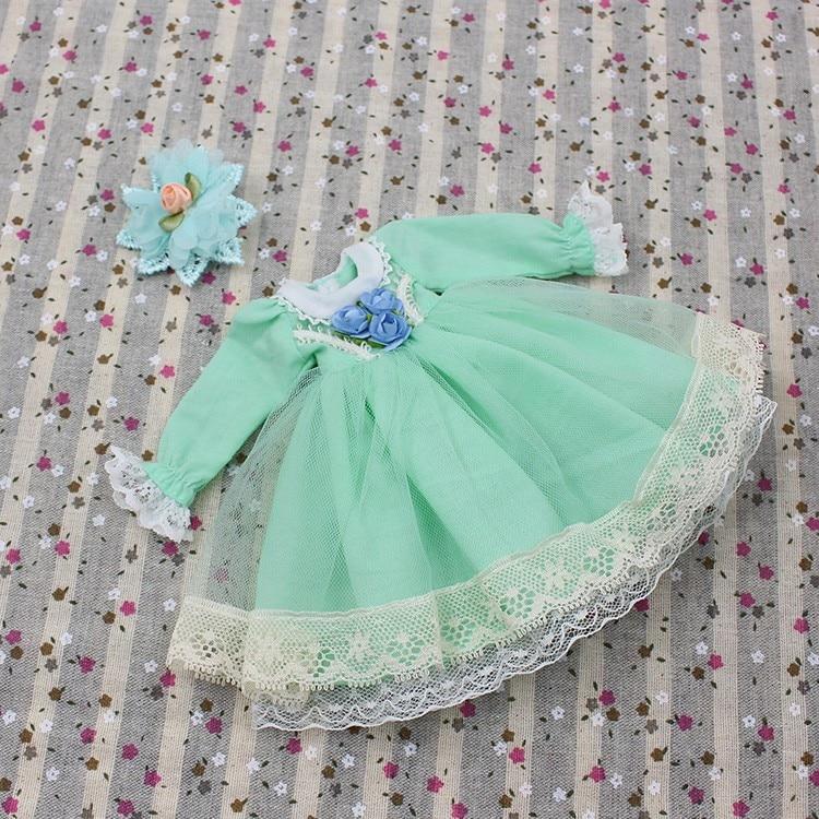 Neo Blythe Doll Lace Flower Dress 3