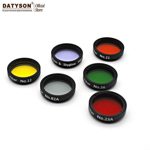125 cor astro filtros conjunto 6 pecas