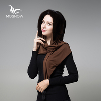 MOSNOW Whole Mink Fur Winter Hats For Women With Fur Pompons Multi Use Scarf Warm Luxury