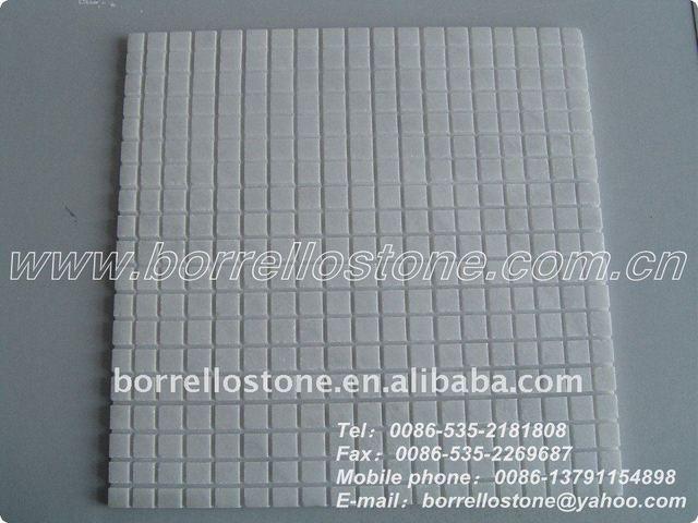 White Stone Tile Mosaic