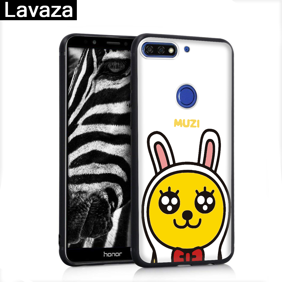 Lavaza POP Korea Cartoon Anime Silicone Case for Huawei P8 Lite 2015 2017 P9 2016 Mini P10 P20 Pro P Smart 2019 P30 in Fitted Cases from Cellphones Telecommunications