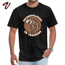 Paleontologist In Training Man Hot Sale Tops Shirts Round Collar Thanksgiving Day Pure Rod Tshirts Rasta black T-shirts