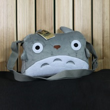 Cute Totoro Plush Shoulder Bags Animal Plush Travel Shoulder Bag Bolsos Casual Totoro Bag For Girls