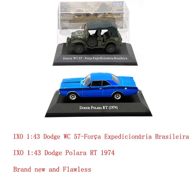 IXO Dodge Polara RT 1974/ WC 57-Forca/1500 1971 Diecast Models Toys Car 1:43 Scale