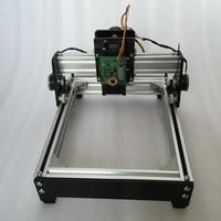 DIY 15W 15000mW mini compact laser engrave machine metal engraving marking machine metal carving cnc router machine advanced toy