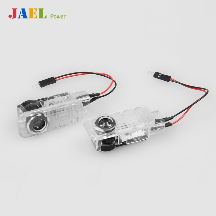 Jael puerta LED Ghost Bienvenido luz Proyector láser Puddle luz para Audi A3 A4 A5 A6 TT Q5 Q7 TTS sline RS S3 S4 S5 RS3 logo