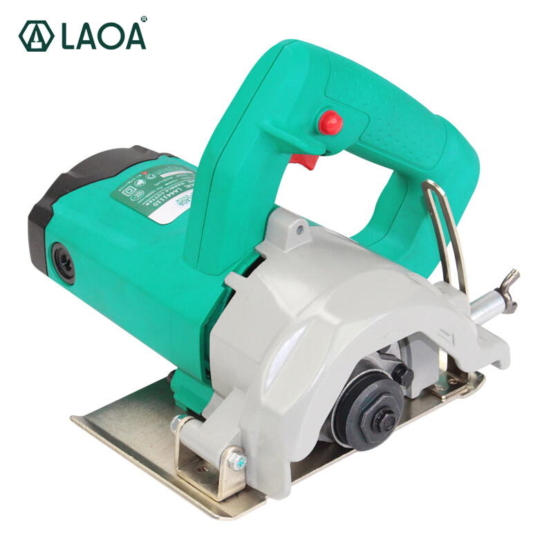 LAOA 1600W Portable Electric Circular Saw Cutting Sawing Machines Cut for Ceramic Tile Wood Brick 12000RPM wall chaser