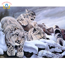 Grosir Snow Leopard Painting Gallery Buy Low Price Snow Leopard