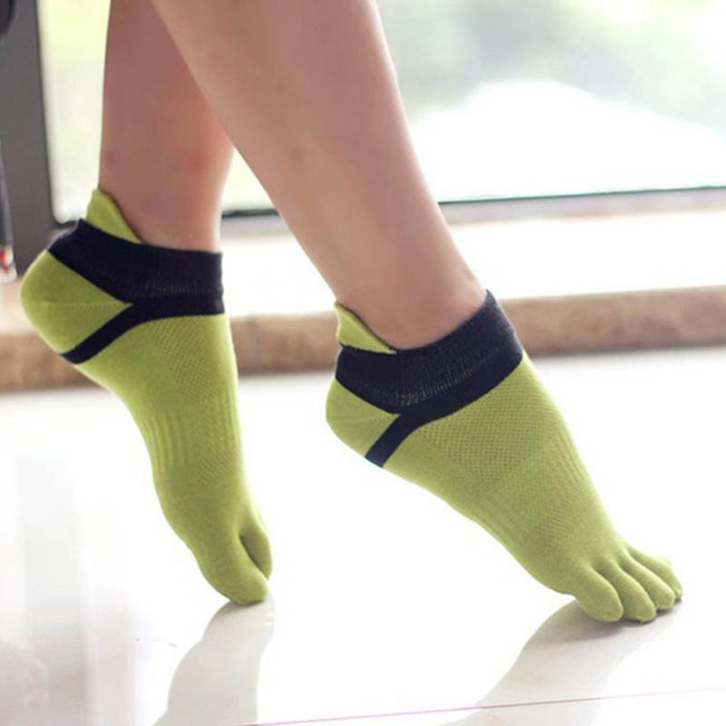 Hose Colorful Soft Sock Women Socks Toe Socks Cotton Socks Five Fingers Socks