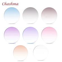 Chashma Brand Quality 1.61 index MR-8 Lenses Tint Prescription Myopia and Reading Recipe Color Anti Resistance Glass