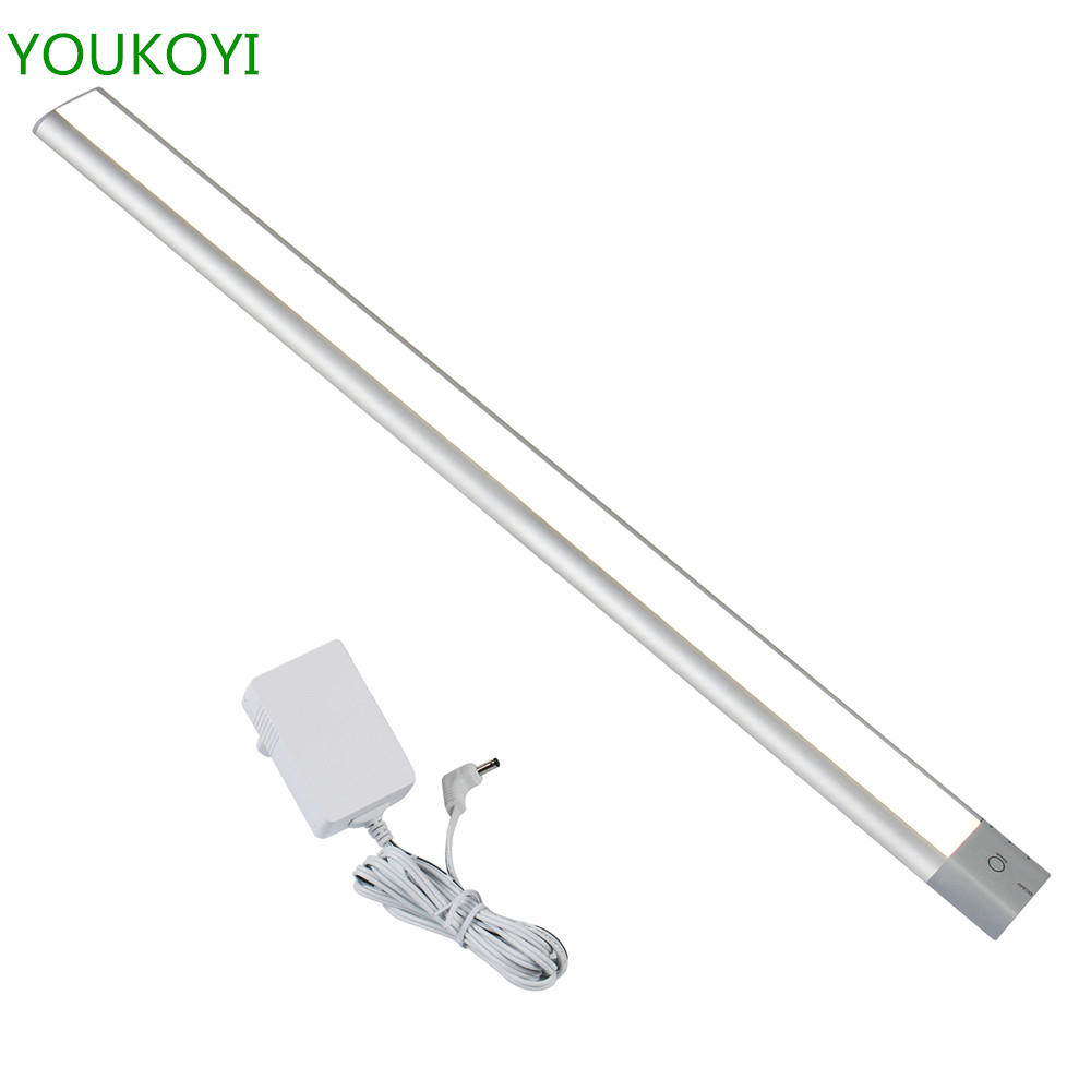 LED Under Cabinet Light Bar For Cupord Kitchen Closet Light With Radar  Motion Sensor Touch Switch