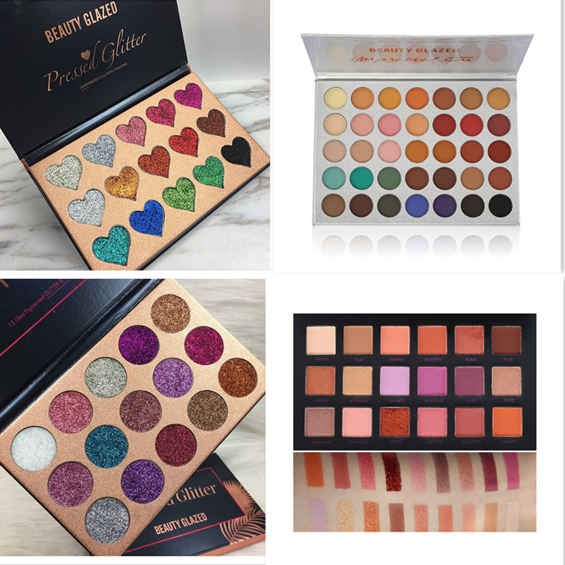 Beauty Glazed Makeup Eyeshadow Palette 18 Colors