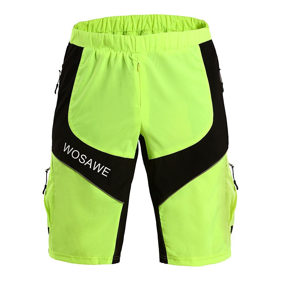 WOSAWE muške kratke hlače Downhill MTB gaćice s podstavljenim - Biciklizam - Foto 5