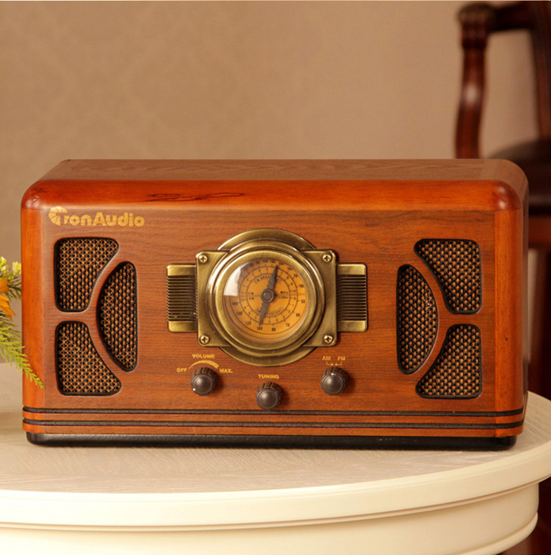 Vintage Am Fm Radio Old Style Shanghai Box Retro Rhaliexpress: Vintage Wood Radio At Elf-jo.com
