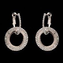 Girl Earrings For Women Jewellery Statement Gifts Accessories Wedding Luxury Cubic Zirconia