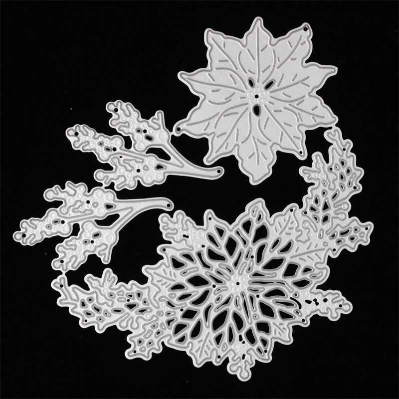 KSCRAFT 2018 New Flowers Metal Cutting Dies Stencils for DIY Scrapbooking/photo album Decorative Embossing DIY Paper Cards