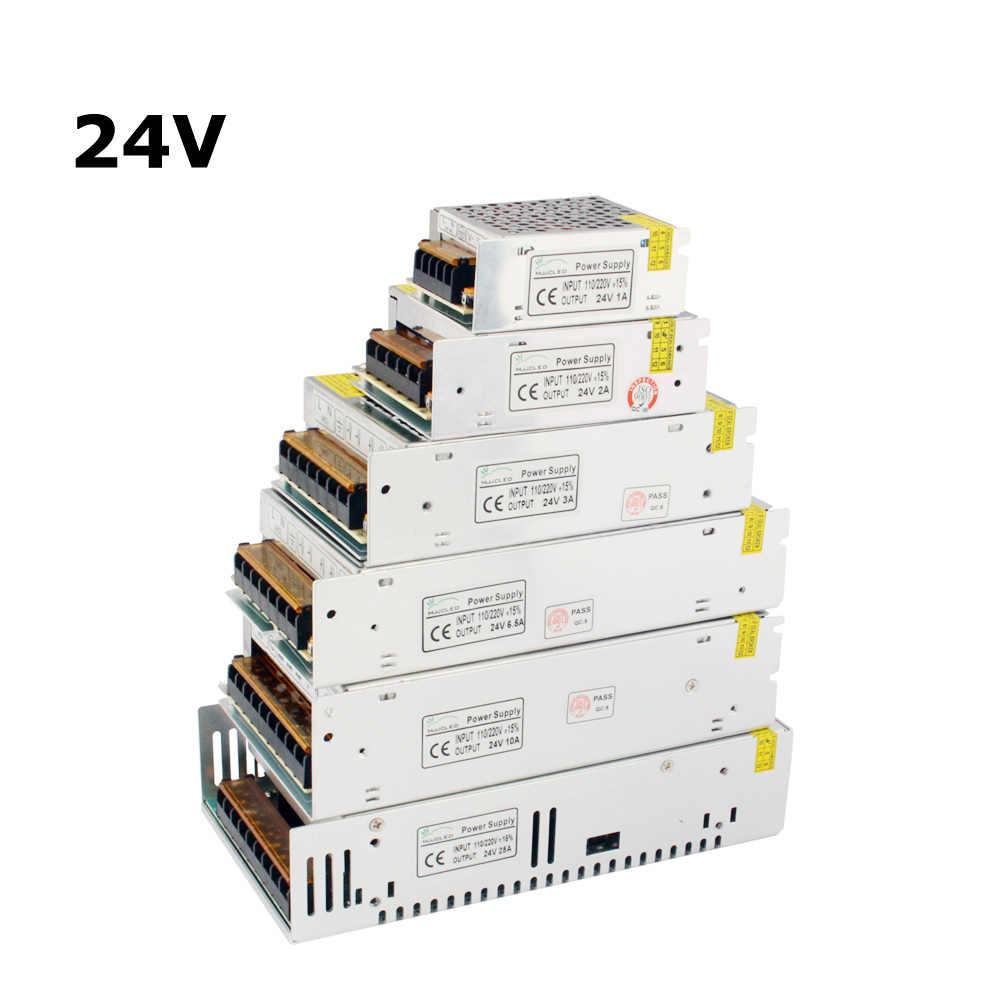 24 ボルト電源 12 ボルト 24 ボルト 5A 10A 20A 24 ボルトの変圧器 220 ボルト 12 ボルト電源ユニット 50A 60A Led ドライバ led ストリップテープ