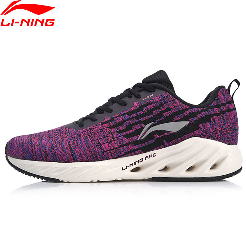 Li-Ning Women LN ARC 2018 Cushion Running Shoes Mono Yarn Breathable LiNing Wearable Sport Shoes Sneakers ARHN102 XYP806