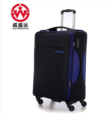 Nylon Rolling Luggage Suitcase trolley bags for men Business Wheeled bag Travel Luggage Suitcase Spinner suitcase Rolling bags vintage suitcase 20 26 pu leather travel suitcase scratch resistant rolling luggage bags suitcase with tsa lock