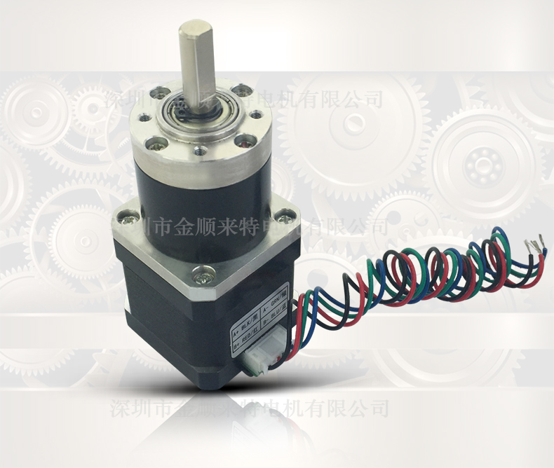 ФОТО ASLONG Nema17  hybrid planetary stepper gear reduction ratio 13.7: 1 19: 1 27:1 motor length 35mm reducer length 38.5mm