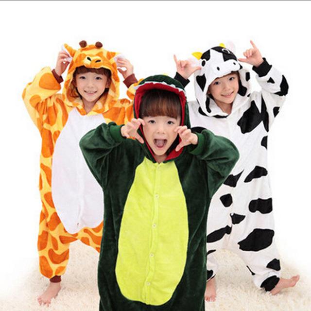 Pijamas Pikachu Kigurumi Carnaval Traje Para O Miúdo Menina Crianças Spiderman Menino Dinossauro Animal Pyjamas Anime Cosplay
