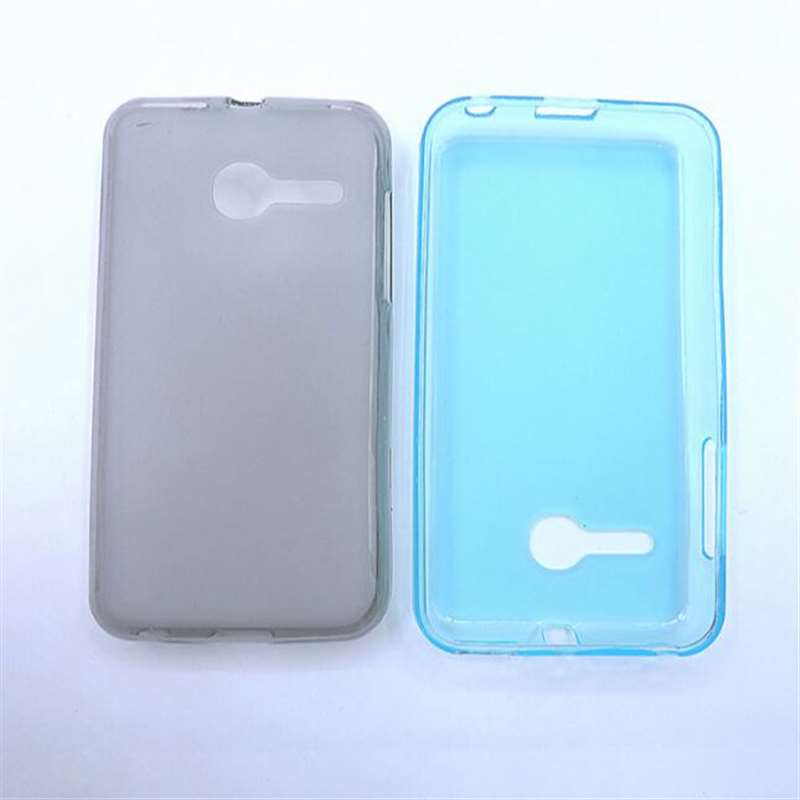 ZLYLXL Dirt-resistan colour bag Clear TPU back cover Silicone Case for Alcatel pixi Eclipse A462C