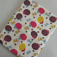 1 Meter Length Width 1 6m Cartoon Lollipops Printed Cotton Fabric Baby Kids Bed Sheet Quilt