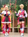 Vocaloid Kagamine Rin/Len Cosplay Costume Rin/Len Cosplay Dress Custom Made Free Shipping