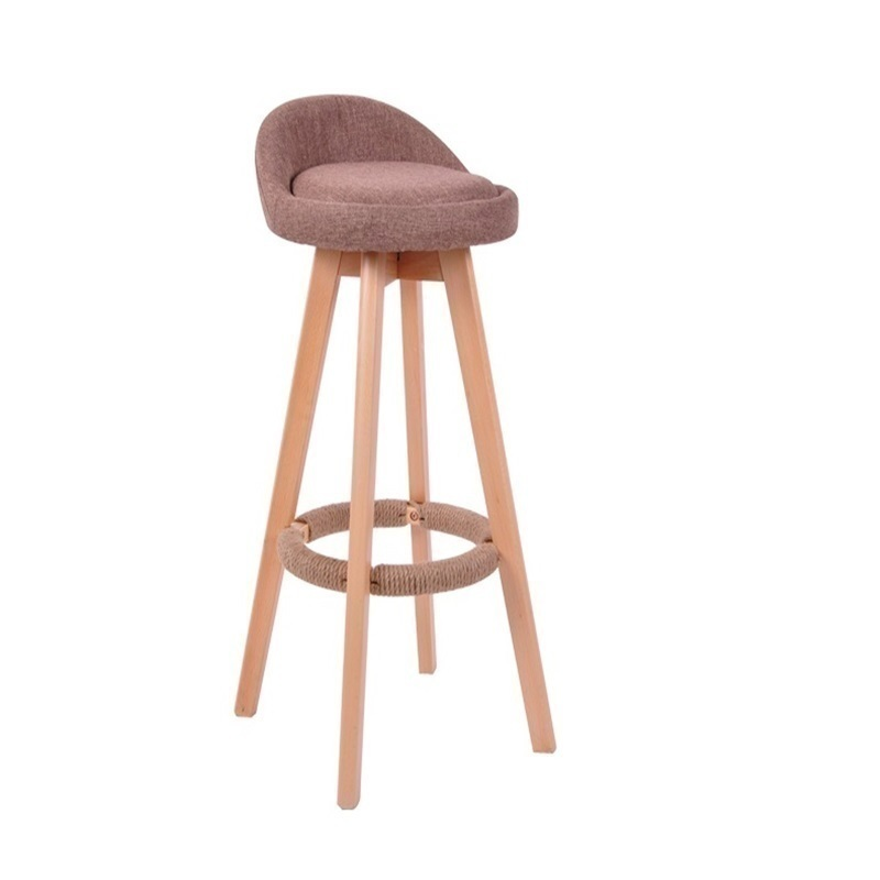 WB#8730 wood rotating bar chair creative simple retro high foot stool FREE SHIPPING стоимость