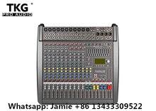 Power Mate PM1000 3 Professionele Geluid Mengen Mixer Console Geluidseffecten 48 Volt Phantom Power 1000 Watt * 2 Eindversterker